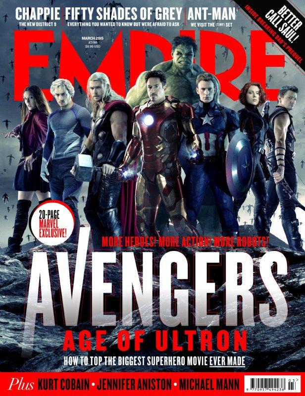 Журнал Empire показал обложки с новыми «Мстителями». Изображение № 1.
