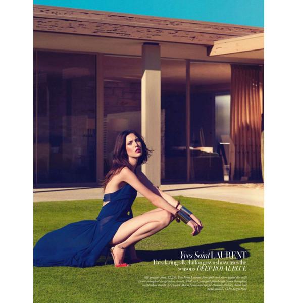 Изображение 9. Съемки: Harper's Bazaar, Metal, V и Vogue.. Изображение № 9.