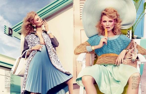 Магдoлена Фраковяк для Vogue Japan. Изображение № 1.