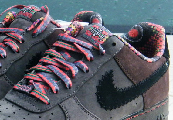 Nike Air Force 1 Low Black History Month 2012. Изображение № 4.