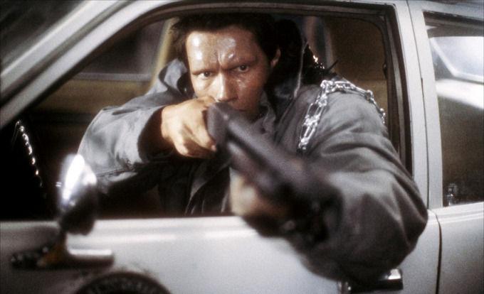 Кадр из фильма «Терминатор» 1984 года. Изображение № 1.
