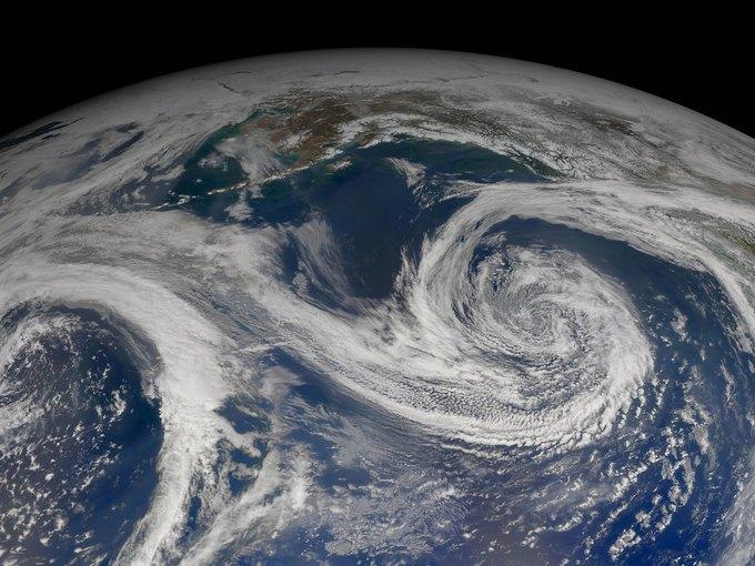 Залив Аляски. Композитный снимок спутника Aqua. Изображение № 5.