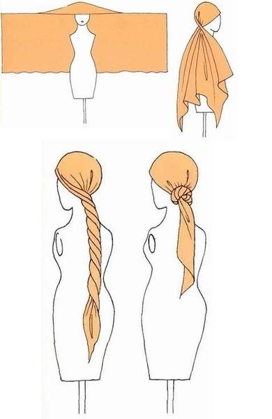 Завязать шарф???. Изображение № 8.