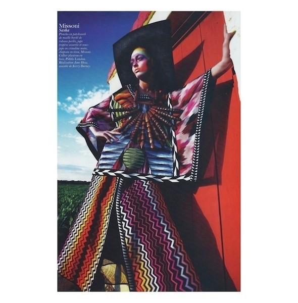 Изображение 14. Съемки: Harper's Bazaar, Industrie, Vogue и другие.. Изображение № 61.