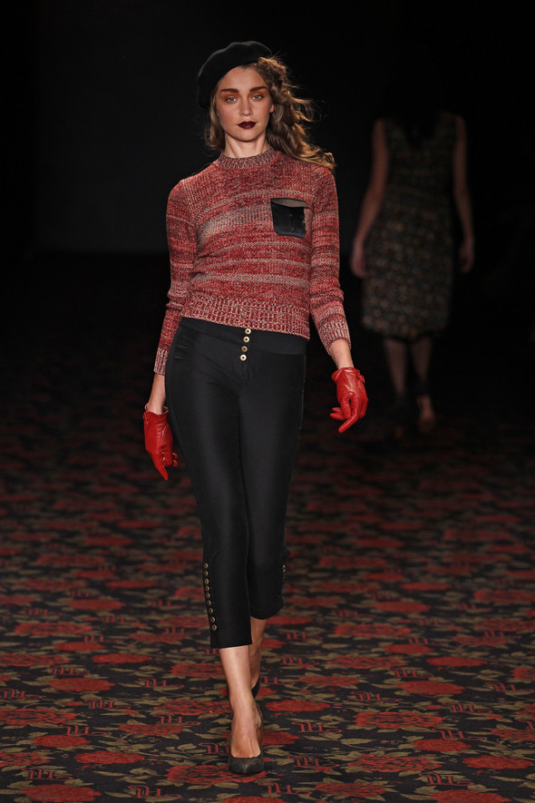 Berlin Fashion Week A/W 2012: Lena Hoschek. Изображение № 72.