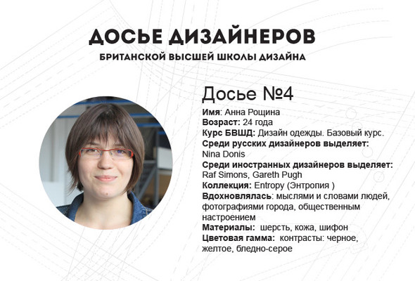 BRITANKA: Анна Рощина by Sunday Up Market. Изображение № 1.