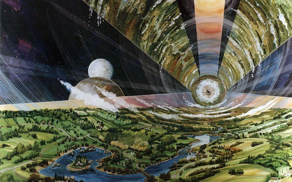 Рай не на земле: Какими в NASA представляли космические колонии будущего. Изображение № 8.