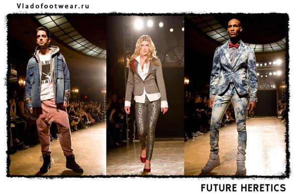 Vladofootwear & Future Heretics Показ 2009. Изображение № 7.