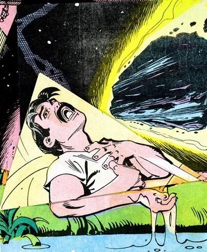 Зловещие и мрачные ретро-иллюстрации, переделанные из детских комиксов. Изображение № 3.