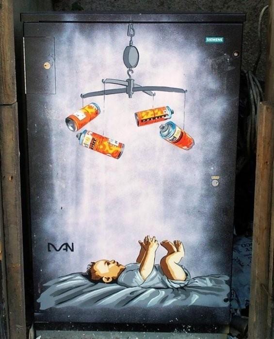 Изображение 28. Бристоль. Художественное граффити.. Изображение № 30.