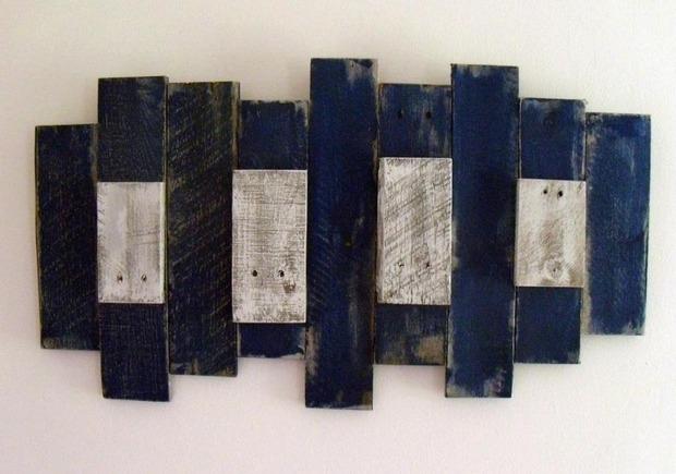 Hard industrial style: art pallets. Изображение № 5.