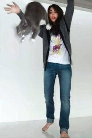 New animal models - животные в фэшн съемках. Изображение № 4.