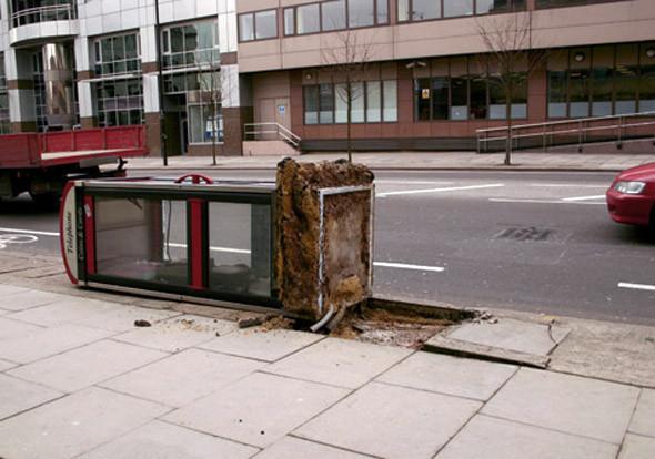 Уличная интервенция от Брэда Доуни. Изображение № 11.