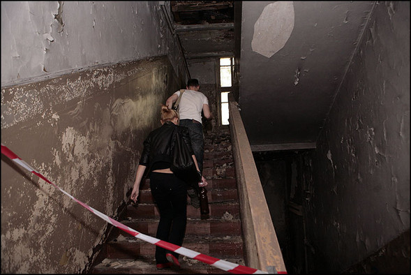 2010-05-15. Москва. Дом Наркомфина. Выставка со взломом. Изображение № 7.