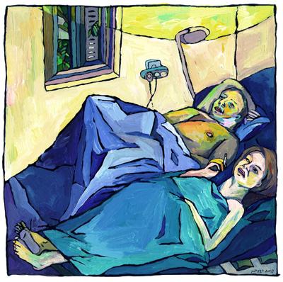 Израильские ине очень иллюстрации ииллюстраторы. Изображение № 34.