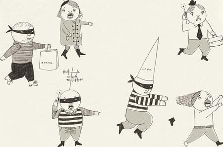 Милые уродцы виллюстрациях Sandra Juto. Изображение № 27.
