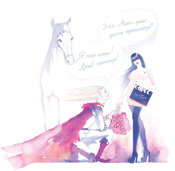 Иллюстратор Софья Голованова. Изображение № 6.