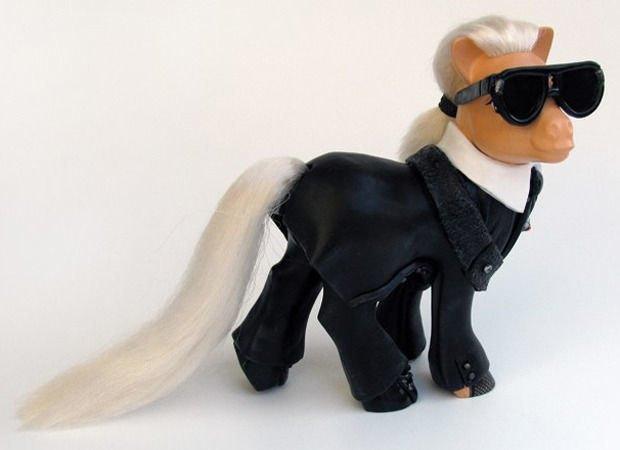 Карл Лагерфельд по версии My Little Pony. Изображение № 25.