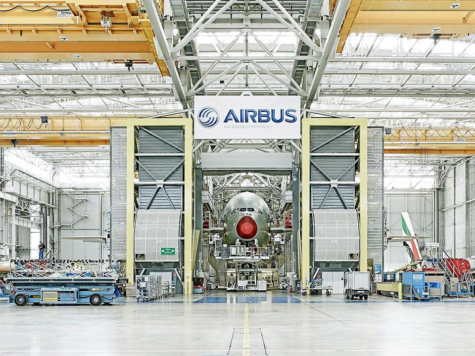 Фото: как собирают самолёты Airbus. Изображение № 8.