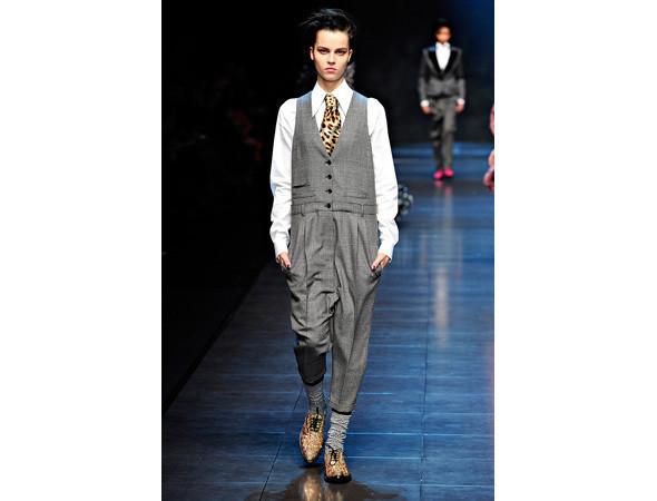Dolce & Gabbana FW 2011  . Изображение № 101.