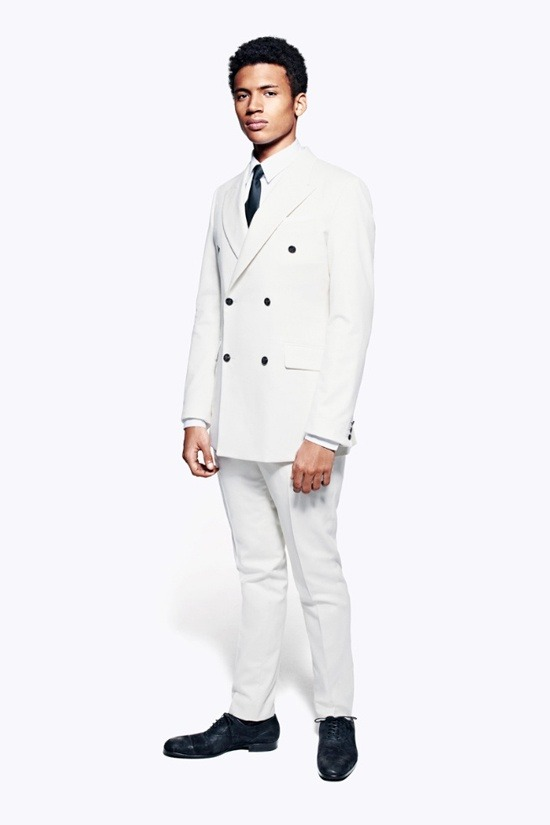Мужские лукбуки Alexander McQueen, Comme des Garcons, Louis Vuitton и Club Monaco. Изображение № 1.