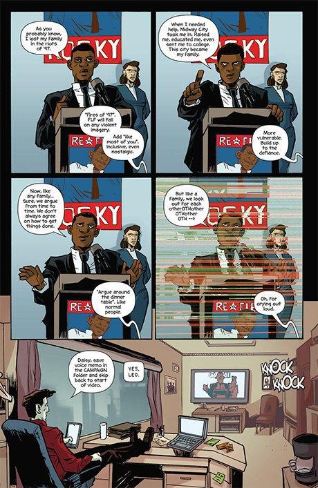 Автор комикса The Fuse об отношении иностранцев к России и женщинах-полицейских. Изображение № 12.