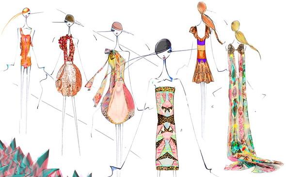 Aurora Fashion Week SS 2012: Чем вдохновлялись дизайнеры, участвующие в Петербургской неделе. Изображение № 3.