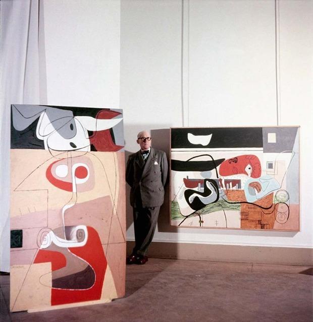 В Париже открылась выставка с редкими портретами Ле Корбюзье. Изображение № 6.