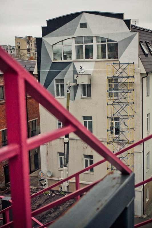 Процесс росписи стены от Alexey Kio. Изображение № 23.
