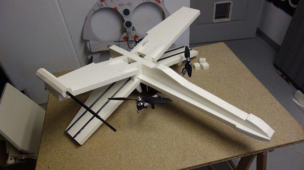 Энтузиаст собрал дрон в виде истребителя X-Wing. Изображение № 10.