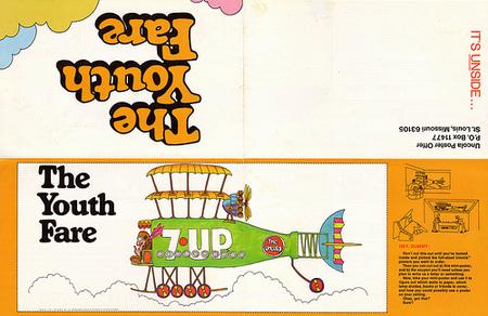 Графика 70-х thegreat hippie 7Up. Изображение № 9.