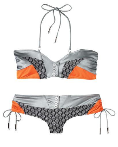 Деним, корсеты, морские принты ипляжная одежда SS2009. Изображение № 26.
