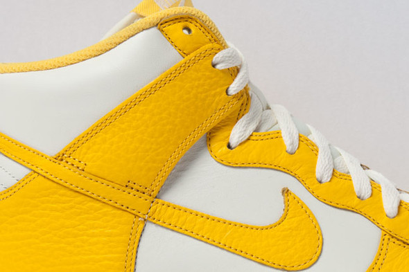 NIKE DUNK HIGH (VARSITY MAIZE). Изображение № 4.