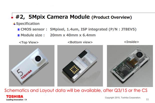 Toshiba показала первые камеры для смартфона Ara. Изображение № 1.
