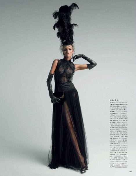 Аня Рубик для Vogue Japan (май 2012). Изображение № 1.