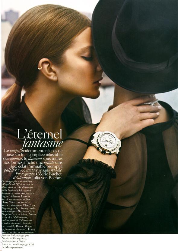 Vogue Франция ноябрь 2009. Изображение № 1.