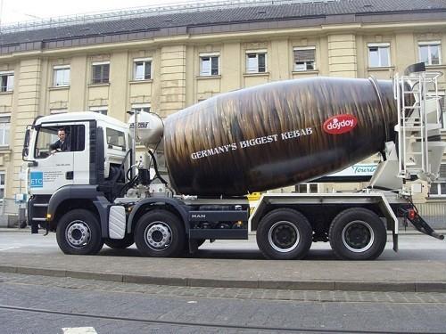 Потрясающая реклама на грузовиках. Изображение № 7.