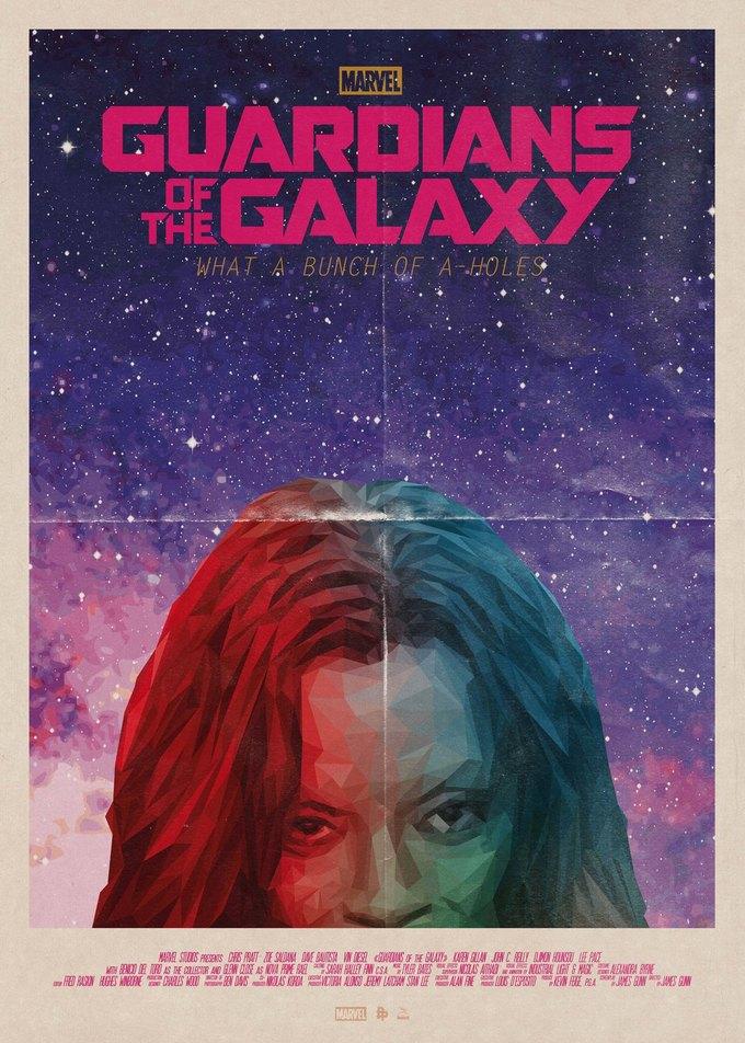 Опубликованы 44 фанатских постера к «Стражам Галактики». Изображение № 16.