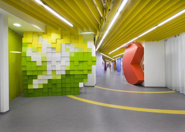 Появились фотографии нового офиса «Яндекса» в Санкт-Петербурге. Изображение № 1.