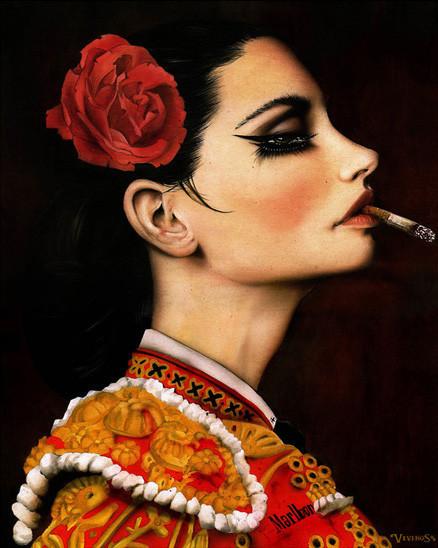 Brian M. Viveros - Американский художник. Изображение № 26.