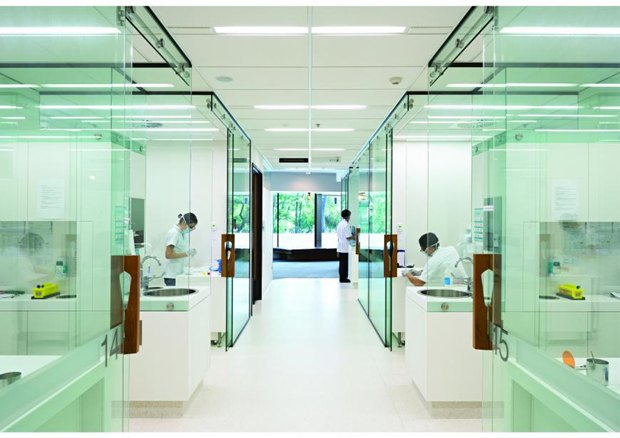 Центр здоровья полости рта Университета Квинсленда в Австралии авторства Cox Rayner Architects. Изображение № 89.