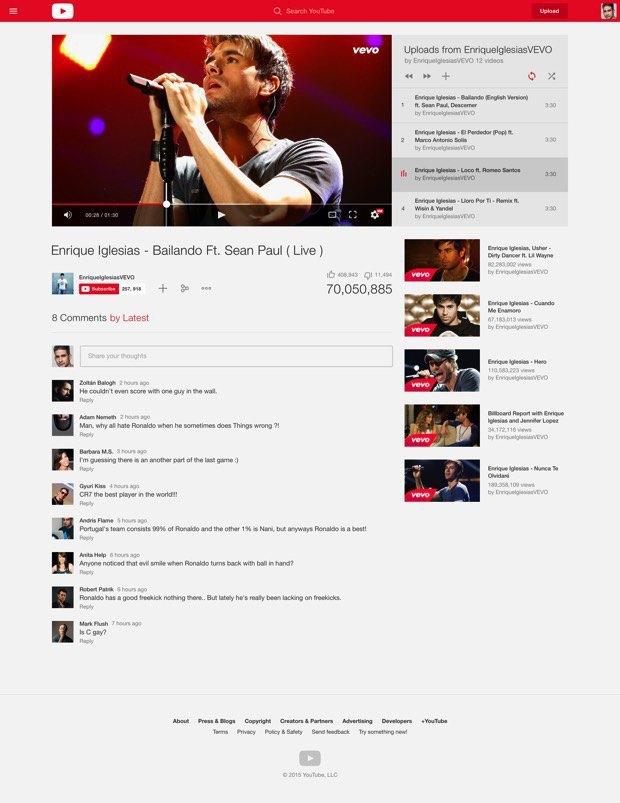 Концепт: редизайн YouTube . Изображение № 4.