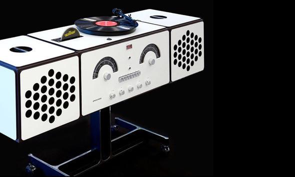 Изображение 1.  Brionvega - радиофонограф.. Изображение № 1.