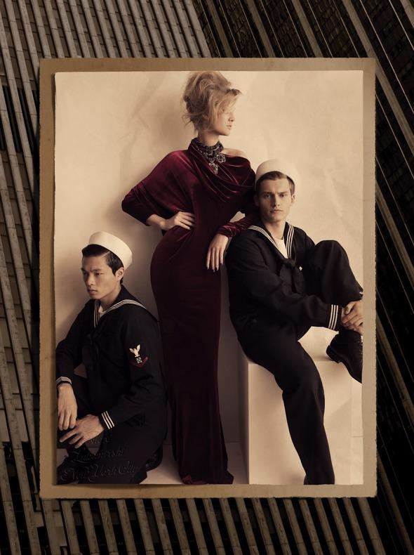 Съемки: Numero, Vogue, W и другие. Изображение №57.