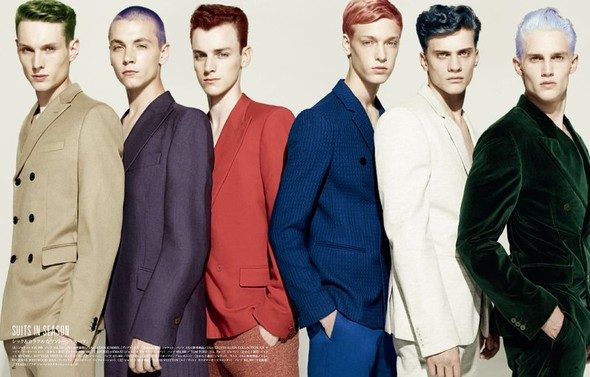 5 новых мужских съемок: Slurp, Fantastic Man, Vogue Hommes, New York Times Style и GQ Style. Изображение № 17.