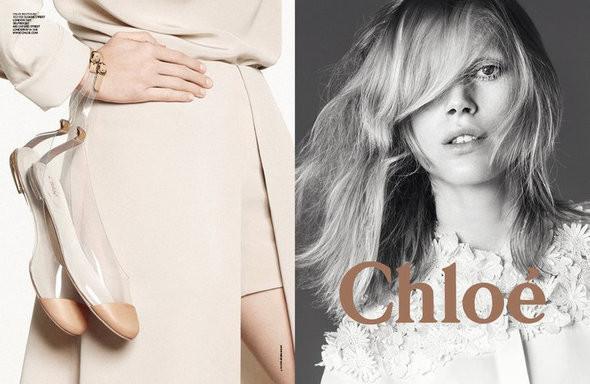 Изображение 1. Рекламные кампании: Chloe, Jean Paul Gaultier, Michael Kors и Versace.. Изображение № 1.