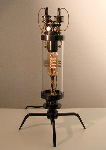 Стимпанк лампы отФранка Бухвальда. Изображение № 12.