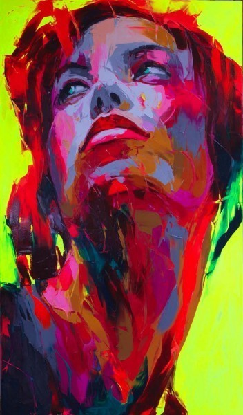 Красочные портреты Франсуазы Нилли. Изображение № 11.