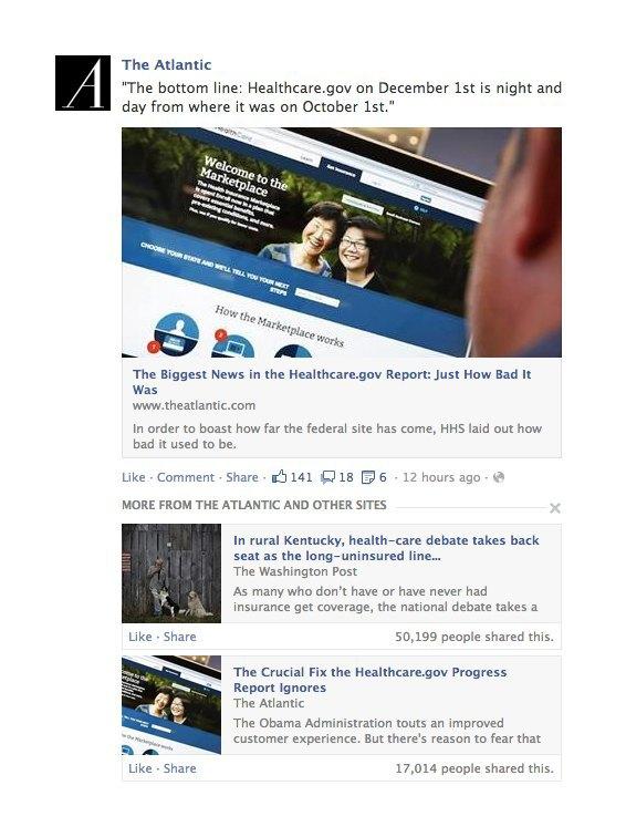 Facebook обновит ленту новостей. Изображение № 1.