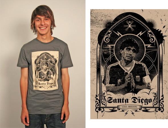 Дизайнерские футболки отT-store. Изображение № 13.